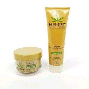Hempz Original Sugar Body Scrub 7.3 oz Exfoliate